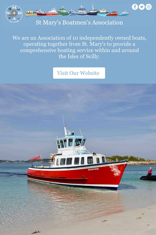 St Mary's Boatmen's Association Logo